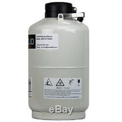 10 L Liquid Nitrogen Container Tank LN2 Storage Dewar 6 Pcs Pails U. S. Solid
