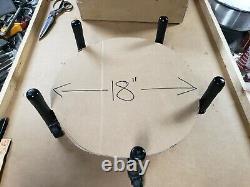 18 Dewar dolly roller base for liquid nitrogen nitrogen container