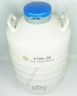 1PC 20 L Liquid Nitrogen Brand New Container Cryogenic LN2 Tank Dewar YDS-20 eb