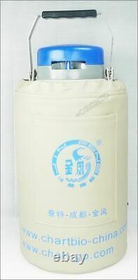 1PC 3L Liquid Nitrogen Container NEW Cryogenic LN2 Tank Dewar With Strap YDS- eg