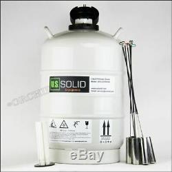 20 L Cryogenic Container Liquid Nitrogen Storage Tank Dewar fz