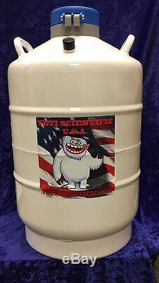 20 L Liquid Nitrogen Tank Cryogenic Dewar LN2 TALL CANISTERS! Ships from USA