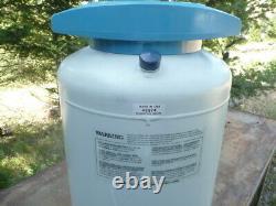 20L Liquid Nitrogen International Cryogenics, Model IC 20D, Storage Tank Dewar