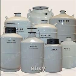20L Liquid Nitrogen LN2 Storage Tank Static Cryogenic Container LN2 Dewar New ho