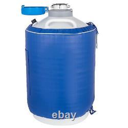20L Liquid Nitrogen Tank Aluminum Alloy Cryogenic Container With Bag Dewar Tank