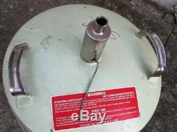 25 Liter Dewar For Liquid Nitrogen, Oxygen, Argon Cryofab CFN-25