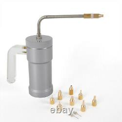 300ml Cryogenic Liquid Treatment Liquid Nitrogen Sprayer Dewar Tank & 9 Heads