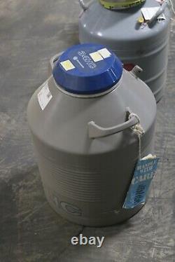 34HC Liquid Nitrogen Dewar Taylor-Wharton Cryogenic Storage Tank