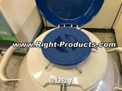 34L Liquid Nitrogen Dewar Taylor-Wharton HC34 Cryogenic Storage Tank