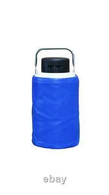 3L Liquid Nitrogen Containers Tanks 3Liter LN2 Dewar Tank Flask