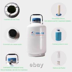 3l Cryogenic Container Liquid Nitrogen Tank Strap Carry Bag Dewar Tank Cryogenic