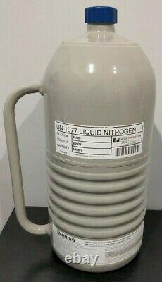 4 Liter Liquid Nitrogen Dewar LN2 Tank Cryo Worthington LD4 WARRANTY