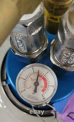 50 Liter Liquid Nitrogen Dewar with Withdrawal Head LN2 Tank Cryo WARRANTY