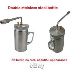 500ml Cryogenic Liquid Treatment Nitrogen Sprayer Freeze Dewar LN2 Tank