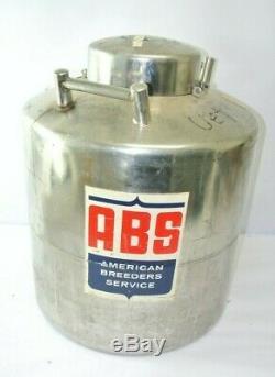 ABS ND-1 Liquid Nitrogen Storage Tank Dewar 50 Gallons