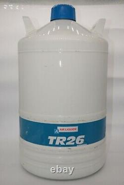 Air Liquide TR26 LN2 Liquid Nitrogen Dewar KF50/NW50 Flange