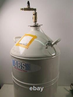 American Biotech Supply ABS-LD 50 Liquid Nitrogen Cryogenic Tank 50 Liter Dewar