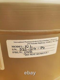 Brand New Taylor Wharton 10 Liter Cryogenic Liquid Nitrogen Dewar, Model 10 LD