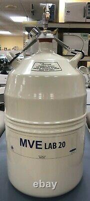 Brymill MVE LAB 20 Liter Liquid Nitrogen Storage Tank Dewar with Sprayer