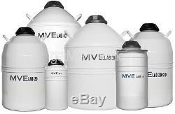 Brymill MVE Liquid Nitrogen Tank Dewar 20Lt 220 Day Holding Time 501-20SC