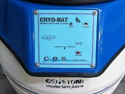 CBS Custom Biogenic Systems Series 4001 Liquid Nitrogen Cryosystem Dewar