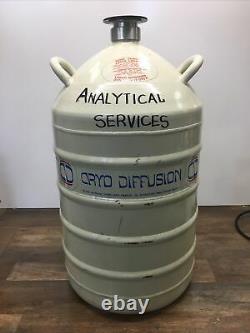 CRYO Diffusion Aluminum Dewar Liquid Nitrogen