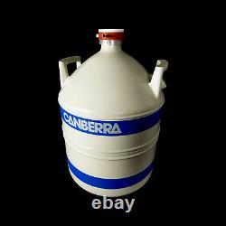 Canberra LND 30 Liter Liquid Nitrogen Dewar Tank
