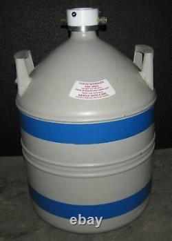 Canberra Liquid Nitrogen Tank Ln2 Dewar 30 Liter (b19)