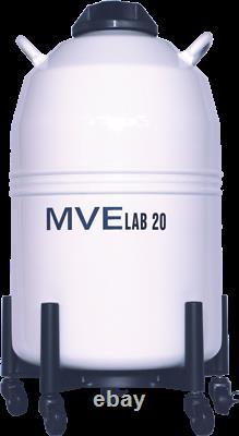 Chart MVE Lab 20 Liquid Nitrogen Cryogenic Storage Dewar Flask, 20 liter