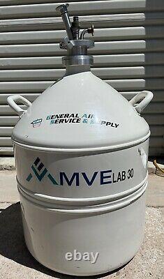 Chart / MVE Lab 30 Liquid Nitrogen Tank Dewar