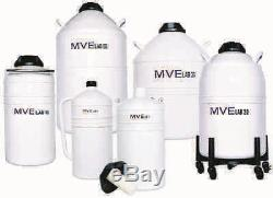 Chart MVE Lab 47 Liquid Nitrogen Cryogenic Storage Dewar Flask, 47 liter