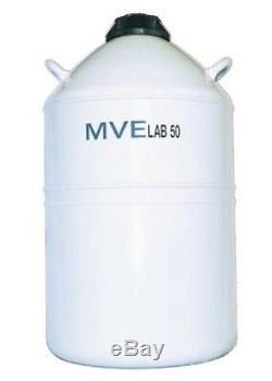 Chart MVE Lab 50 Liquid Nitrogen Cryogenic Storage Dewar Flask, 50 liter