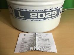 Cryo Diffusion L-2025 25l Aluminum Dewar Liquid Nitrogen Transport/storage Ta