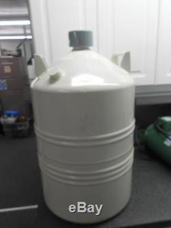 Cryo Diffusion L-2025 25l Aluminum Dewar Liquid Nitrogen Transport/storage Tank