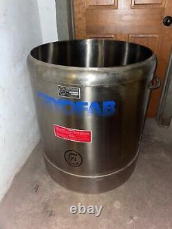 Cryofab CF-2624 Dewar Flask Tank 155 Liter/40 Gallon Liquid Nitrogen