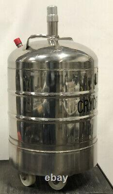 Cryofab Model # CFL-25 25 Litre Liquid Nitrogen Dewar Cryo Chamber