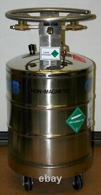 Cryofab Stainless Steel Liquid Nitrogen Tank / Dewar, Model Clpb50gl, 50 Liters