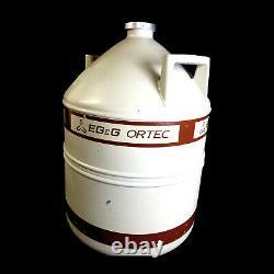 EG&G Ortec LN2 30 Liter Liquid Nitrogen Dewar Tank