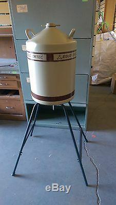 Eg&g Ortec Liquid Nitrogen Dewar Tank Spectrometer