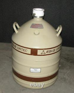 Eg&g Ortec Liquid Nitrogen Tank Ln2 Dewar 30 Liter Al-30-o (b1)