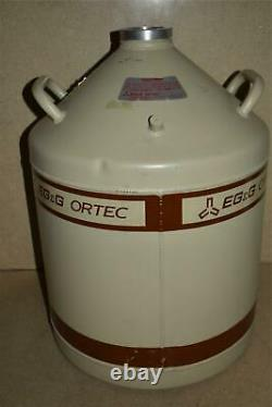 Eg&g Ortec Liquid Nitrogen Tank Ln2 Dewar 30 Liter (qg22)