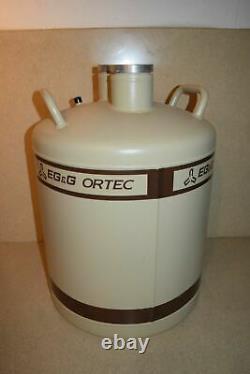 ^^ Eg&g Ortec Liquid Nitrogen Tank Ln2 Dewar 30 Liter (#z1)