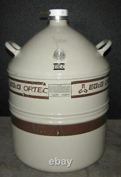 Eg&g Ortec Liquid Nitrogen Tank Ln2 Dewar Al-30 30 Liter (b6)