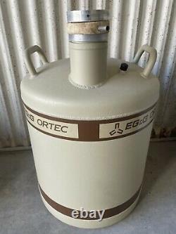 Eg&g Ortec Liquid Nitrogen Tank Ln2 Dewar Al 30 Liter