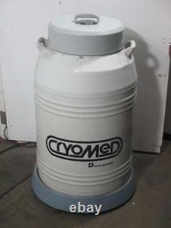 Forma Scientific Cryomed CM 290 Liquid Nitrogen Tank Dewar Cryobiological Vessel