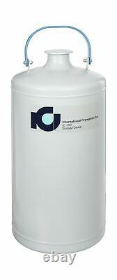 International Cryogenics IC-10D Liquid Nitrogen Storage Dewar, 10 Liter Capac