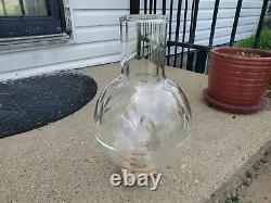 Isotherm 3 Liter Clear Transparent Vacuum Dewar Flask Liquid Nitrogen LN2