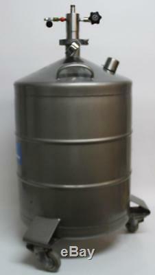 Juno Messer Griesheim 50 Cryogenic Dewar Tank Liquid Nitrogen (6183)