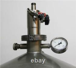 Juno Messer Griesheim 50 Cryogenic Dewar Tank Liquid Nitrogen USED (6183)