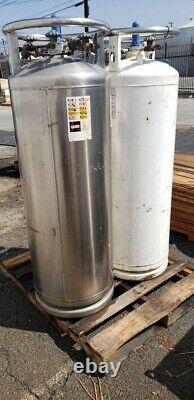 LN2 Liquid Nitrogen 160L Dewar (x2)
